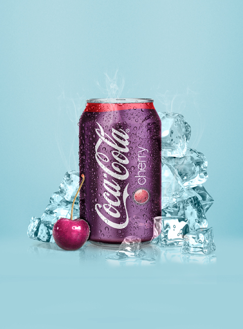 Packaging Coca-Cola Cherry